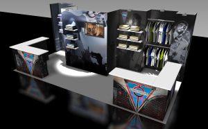10x20 Merchandiser Display