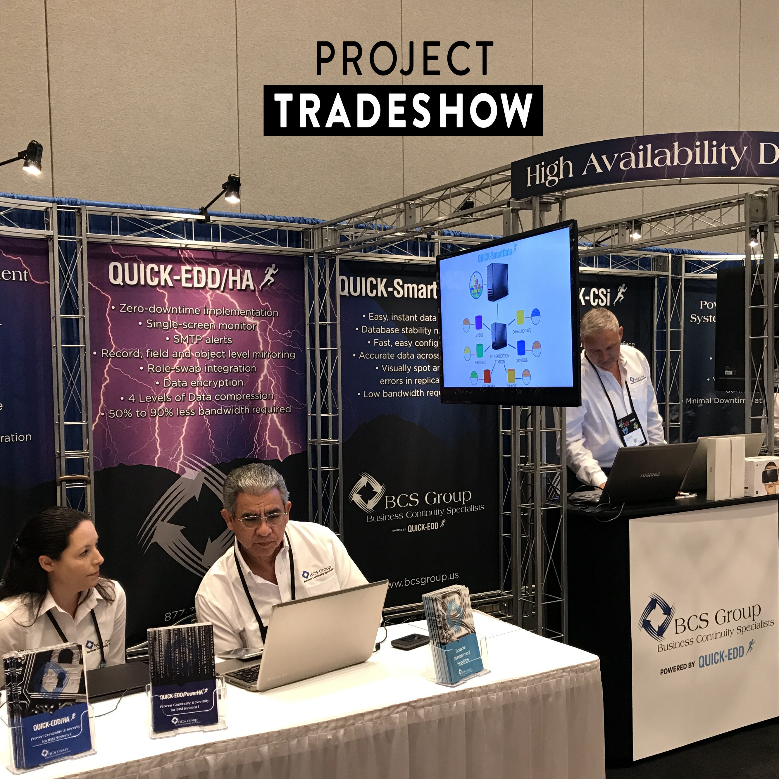 There are many occasions when Renting your display just makes sense.  In which case we'll ship out your complete Rental booth to you, Graphics and all; you just set it up at the show and return it to us after the show, minus the graphics, unless you want us to store it all until next show.  Now, our Boutique Turnkey Rental Solutions (TRS) offer 'Installation & Dismantling Service' at all the major trade show venues across the country for 10x10ft and bigger booths! We'll take care of all the Shipping and Installation & Dismantling service (I&D) at your venue.  You'll be able to walk into your specially designed space and get to work,    Just place your order 30 days before show date!
